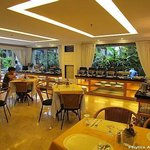 Catleya Cafe at the ground floor and near the swimming pool
