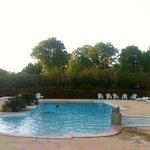 La piscine chauffé