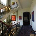 Couloir du palace