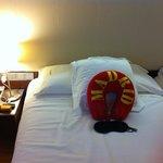 quarto super confortável