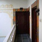 Beautiful, decorative door surrounds