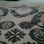 whole carpet from the 60's