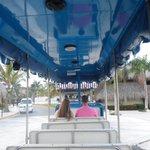 Trolley running between Memories & Royalton