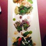 Entree tasting platter