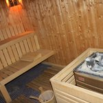 SPA Sauna with 87 degrees Celsius