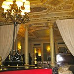 The dining room is elegant!