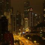銅鑼湾の夜景