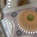 Suleymaniye Mosque - Inside