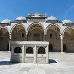Suleymaniye Mosque - Courtyard