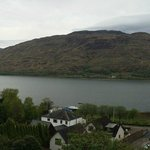 View of Loch Linnhe from the Linnhe Suite.