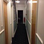 Le couloir de notre chambre.