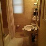 Room 240 bathroom