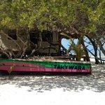 Am Strand von Casa Takywara - Blick in Richtung Hotel