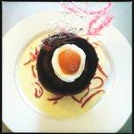 Dessert oeuf de Pâques