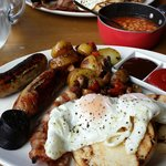 Cracking Breakfast..... best sausage ive had in ages!