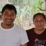 Betreiberehepaar Julio und Janet