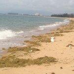 Beach Sanya - no way to go swim there