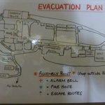 Plan vom Gelände
