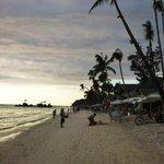 Sunset White Beach