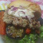 le burger du moi's' le veau les vaut