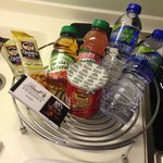 Free snacks - first round only