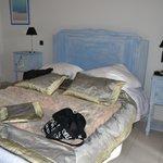 La chambre bleue...