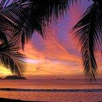 Abendstimmung nach dem Sonnenuntergang an der Playa Potreras