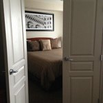 Room with a separate bedroom
