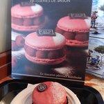 boulangerie paul lille - macaron fragola