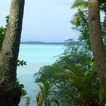 Traumhafte Aussicht auf die Lagune bei Flut