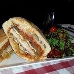Veal sandwich yum;)