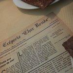 Originale cette carte : un journal d'autrefois