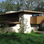 Frank Lloyd Wright house to visit next door.