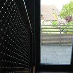 Blick über Balkon