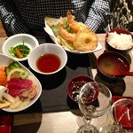 tempura e salsine