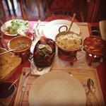 Butter Nan, Lamb Chops Tandoori & chicken Tikka Masala ��