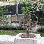 Detalle terraza/jardín.