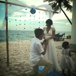 Private wedding party at Shades Mui Ne