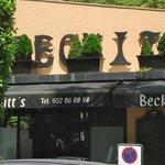 Beckitt's restaurant, Marbella