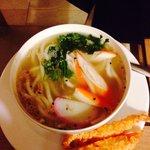 "Kitsume ""Tempura udon soup"""