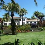Garten mit Haupthaus