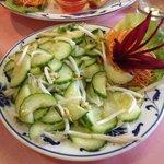 Cucumber salat