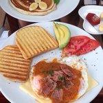 Huevos Rancheros was delish!