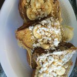 Banana Mac Nut French Toast - YUM!