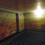 uno degli affreschi ai piani