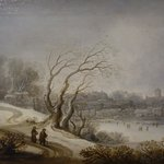 Pieter D. v. Santvoort: Winter Landscape