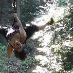 Ziplining! !