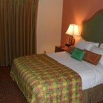 1 van de 2 slaapkamers in de suite
