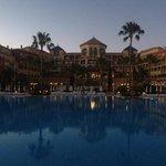 hôtel vue de la piscine