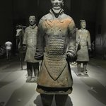 Chinese army in stone